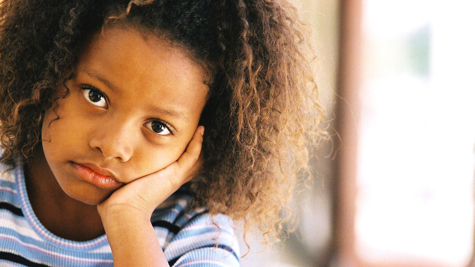 Sad of children pictures